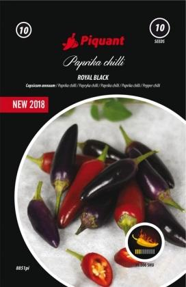 Paprika Royal black PIQUANT - chilli