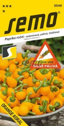 Paprika Orange Koral  SEMO