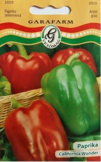 Paprika California Wonder GARAFARM