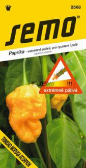 Paprika Trinidad moruga scorpion yellow  SEMO - chilli